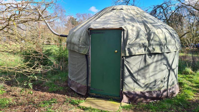 maxs yurt outside