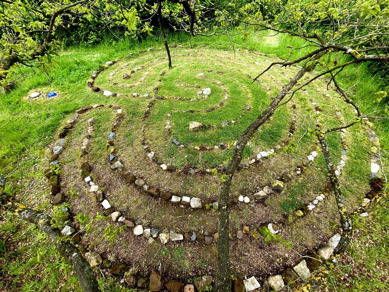 Clophill Centre Labyrinth