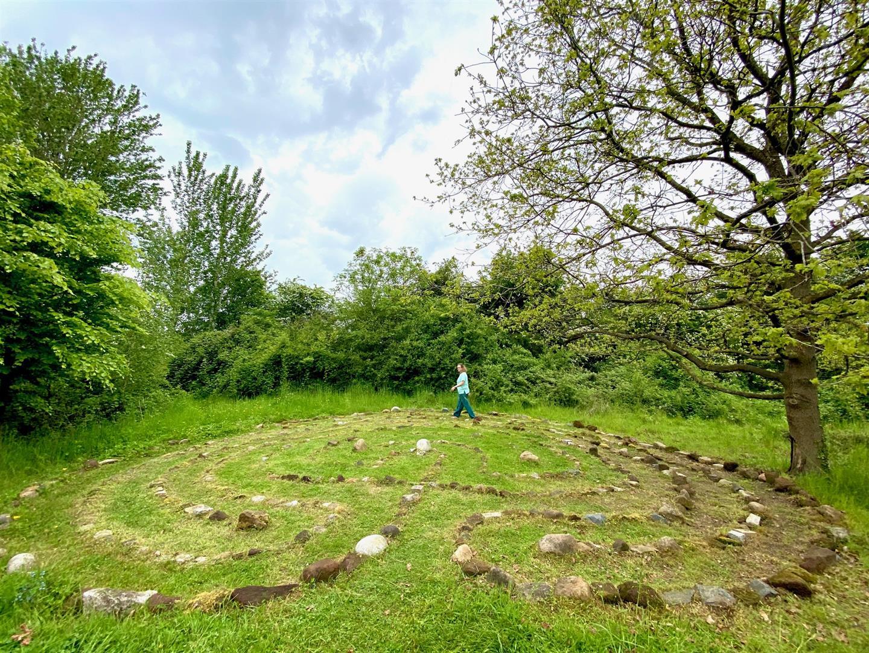 Clophill Centre Labyrinth 8
